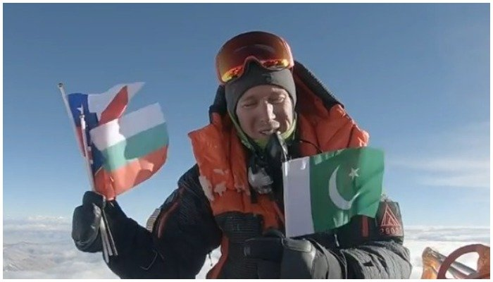US mountaineer pays tribute to Ali Sadpara and others who died trying to summit Mt Everest.