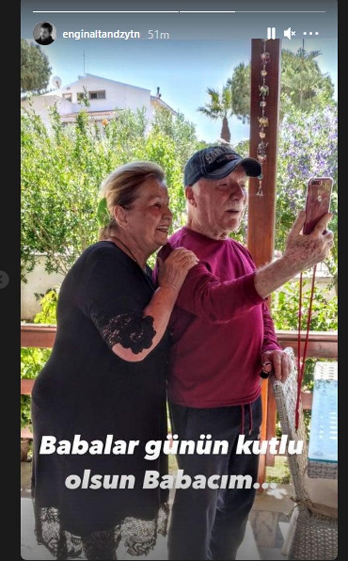 'Ertugrul' star Engin Altan Duzyatan wishes his dad on Father's Day