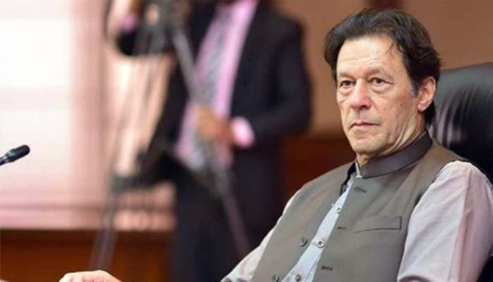 A picture of Prime Minister Imran Khan. Photo: File