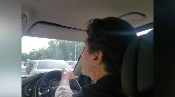 Watch: PM Imran Khan drives around different areas of Islamabad