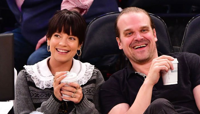David Harbour has also gladly accepted his role as a step-father to two of Lilly Allen's daughters