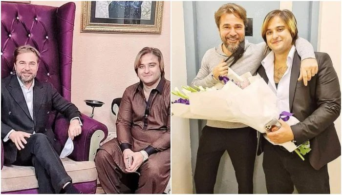 Kashif Zameer Chaudhry can be seen withEngin Altan Düzyatan, best known for his role as Ertuğrul Bey in Diriliş: Ertuğrul. — File photo