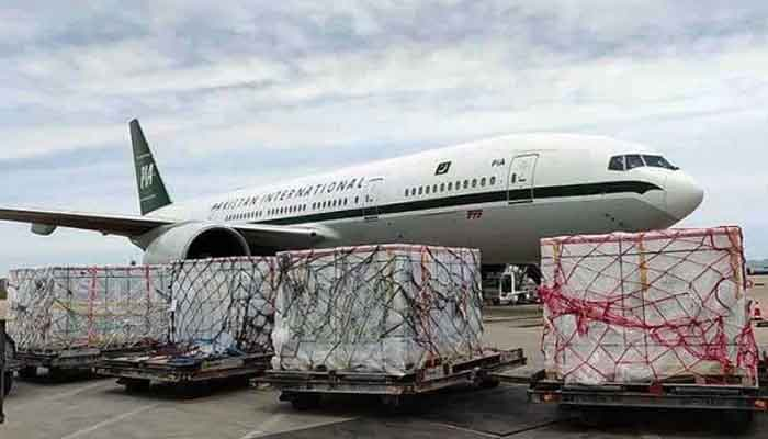 PIA special plane airlifts batch of Sinopharm vaccine to Pakistan from China. — APP/File