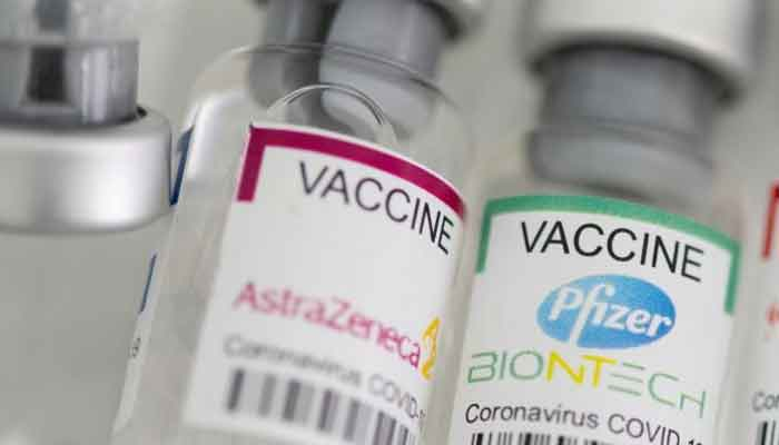 The AstraZeneca and Pfizer vaccines. — Reuters/File