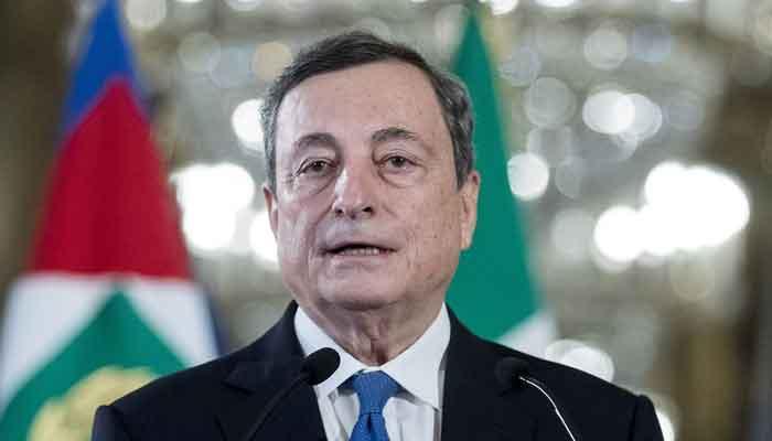 Italian Prime Minister Mario Draghi. Photo courtesy: Bloomberg