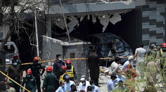 Three dead, 24 injured in Lahore's Johar Town blast