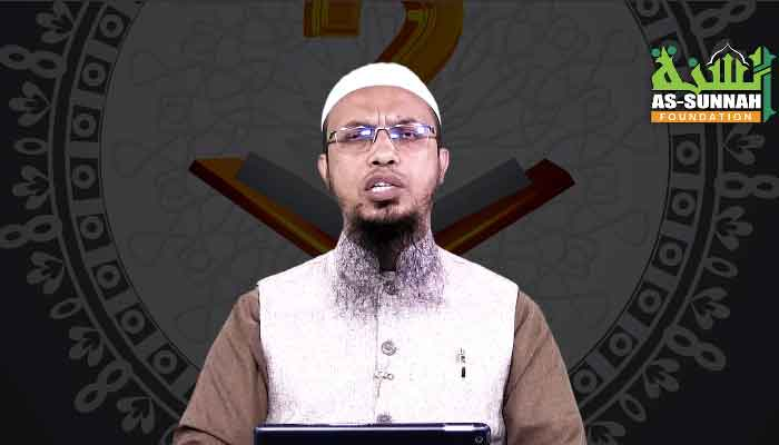 Mufti Ahmadullah can be seen in one of his videos in this screengrab courtesy Facebook/Ahmadullah.