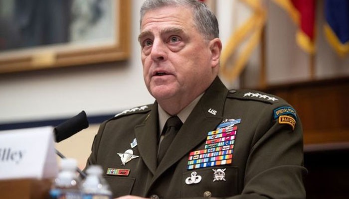 Joint Chiefs Chairman General Mark Milley.