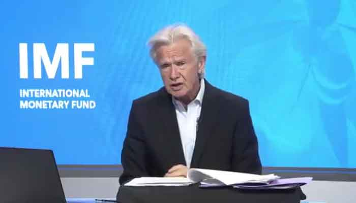 IMF spokesman Gerry Rice in a video statement shared on Twitter by IMF.