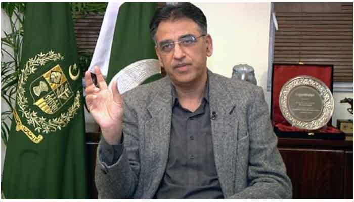 NCOC Chief Asad Umar. File photo