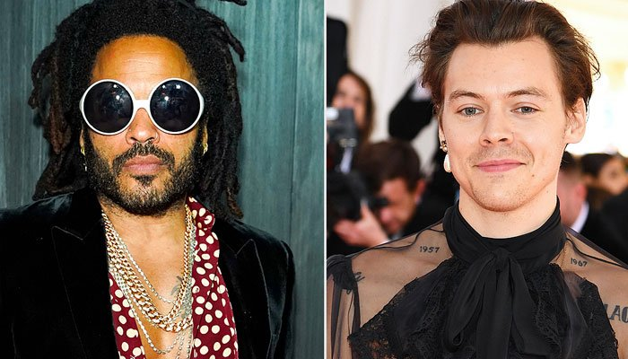 Are Harry Styles fashion choices heavily influenced by Lenny Kravitz?