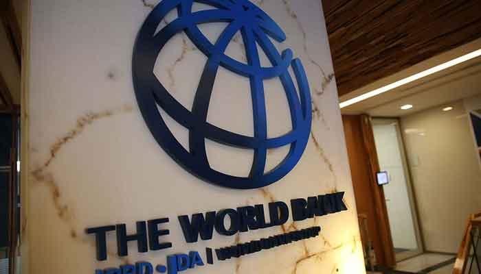 The World Bank logo.