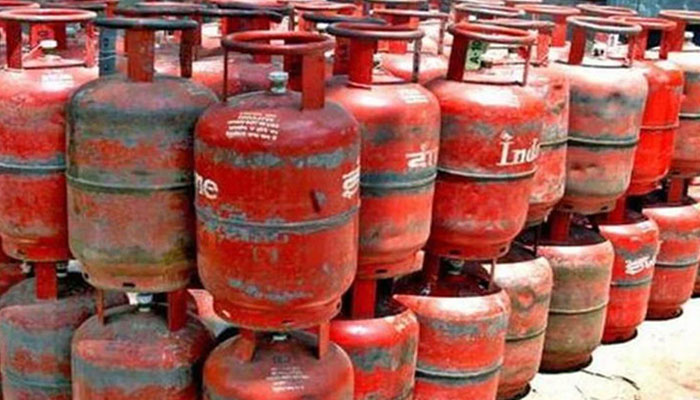 File photo of LPG cylinders.