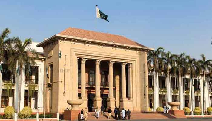 The Punjab Assembly building. Photo: Geo.tv/ file