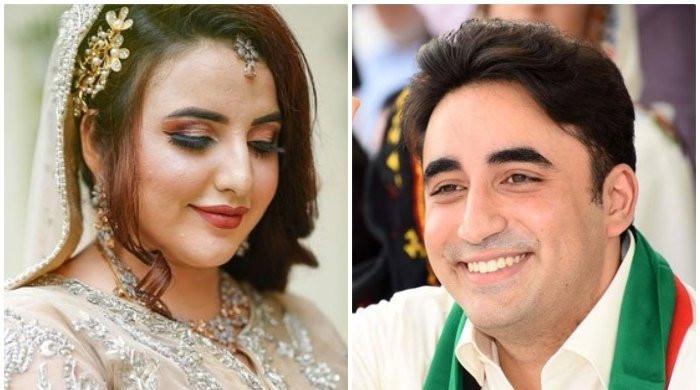 Bilawal calls news of TikTok star Hareem Shah marrying a PPP leader 'rumours'
