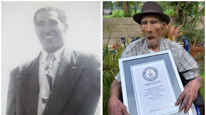 World's oldest living man sets Guinness record