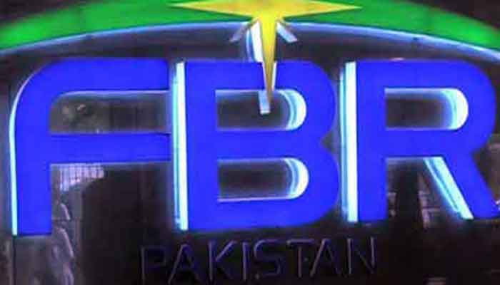 The logo of FBR.