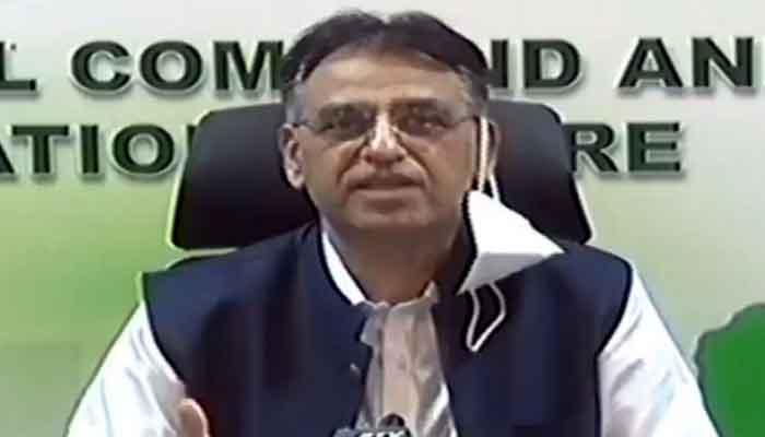 Federal Minister for Planning Asad Umar.