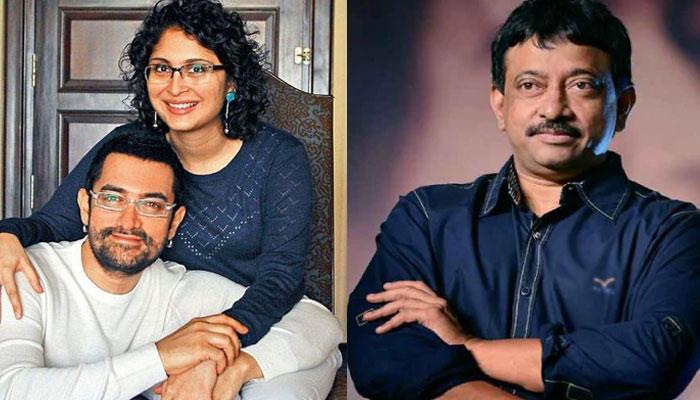 Ram Gopal Varma comes out in defence of Aamir Khan, Kiran Rao against trolls
