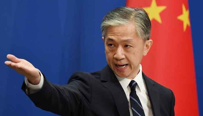 Chinese Foreign Ministry Spokesperson Wang Wenbin. File photo