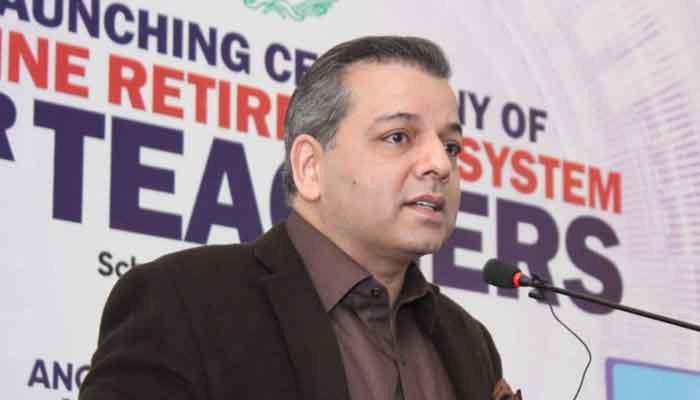 Punjab Education Minister Murad Raas. Photo: Files