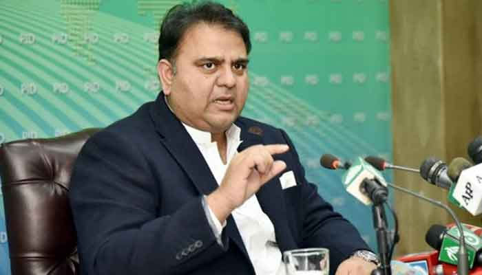 Minister for Information and Broadcasting Fawad Chaudhry. File photo