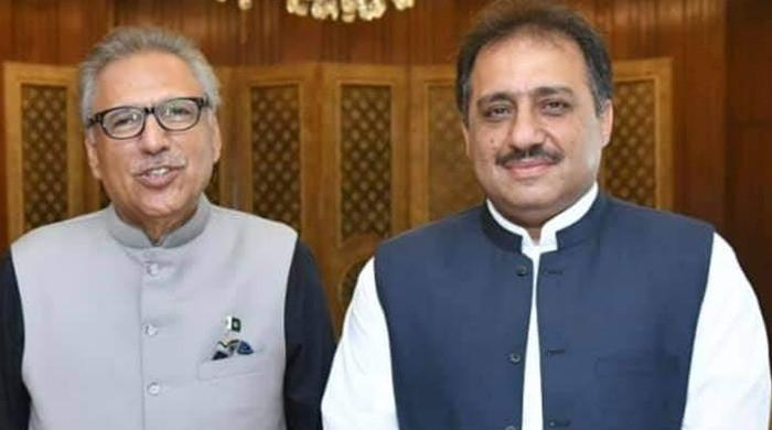 President Arif Alvi appoints Zahoor Ahmed Agha as new governor of Balochistan