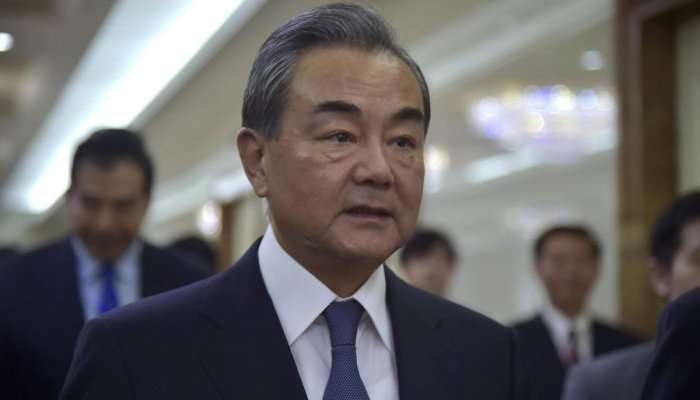 Chinese Foreign Minister Wang Yi. Photo: AFP