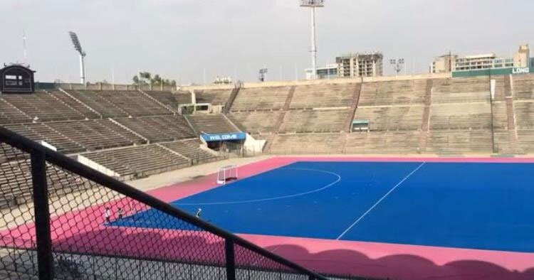 National Hockey Stadium - an asset being wasted under Sports Board Punjabs nose