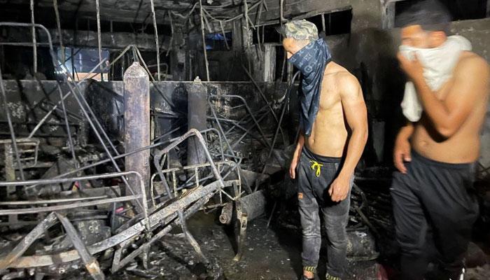 Several killed in Covid ward fire at Iraq hospital