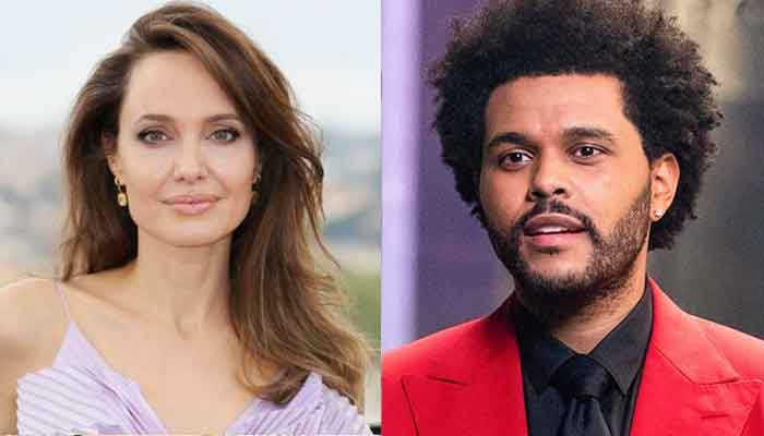 Angelina Jolie and The Weeknd grace a music event amid romance rumours