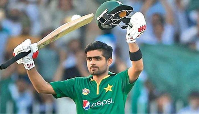 Pakistani cricket captain Babar Azam. Photo: File.