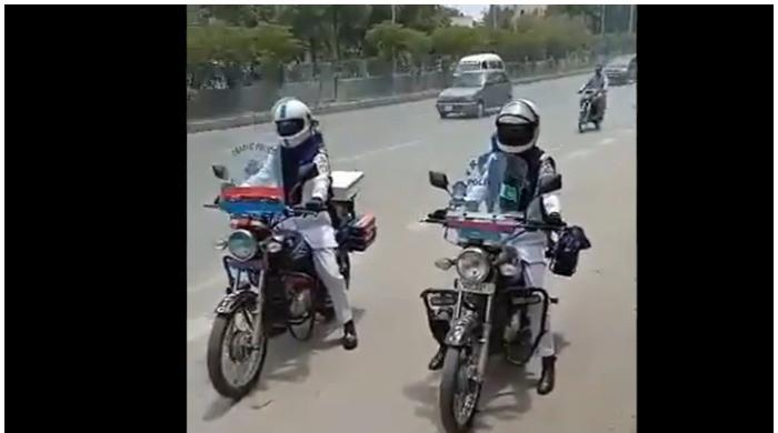 In a first, Karachi Traffic Police deploys female officers