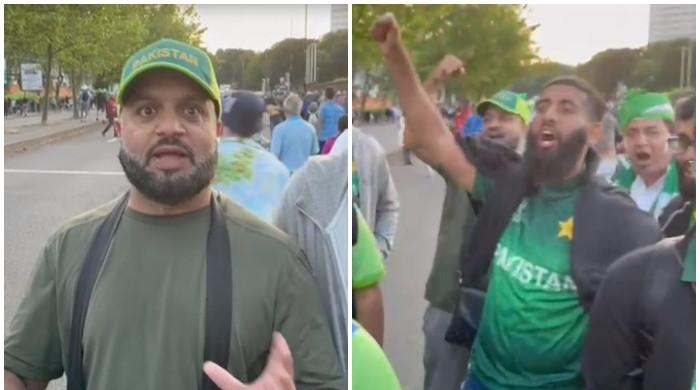 'Misbah, Waqar, leave us alone': Angry Pakistani fans protest at Birmigham after England loss