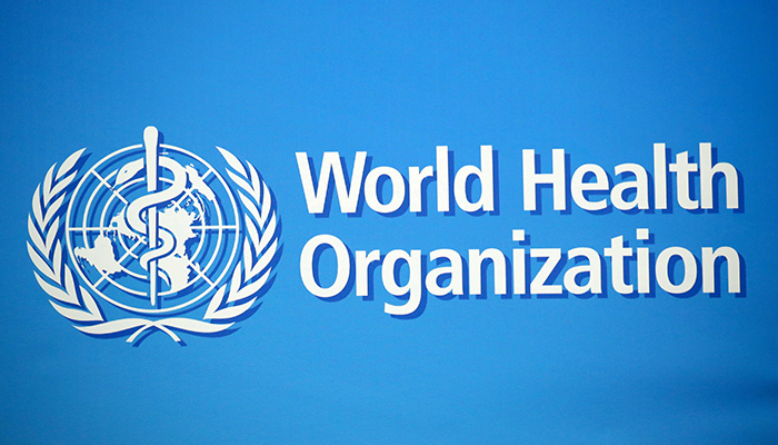 A logo is pictured at the World Health Organization (WHO) building in Geneva, Switzerland, February 2, 2020. — Reuters/File