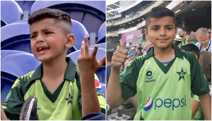 Shami Khan expressing his disappointment in the first ODI (L) and flashing a thumbs up during first T20 which Pakistan won, against England, in England. — Photo courtesy PCB