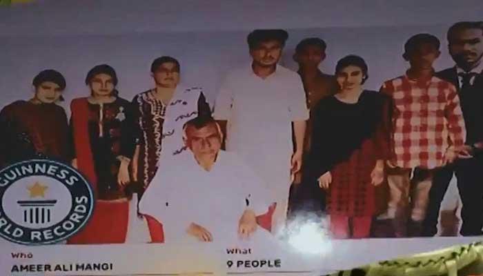 Guinness World Records. Ameer Ali Mangi