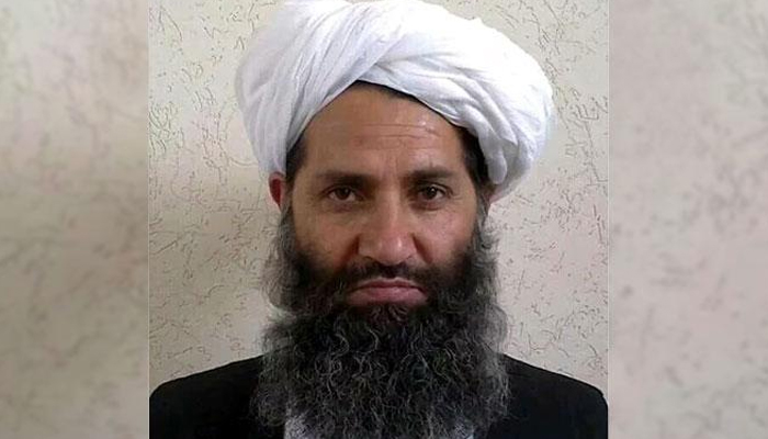 Afghan Taliban leader Hibatullah Akhundzada. Photo: Files