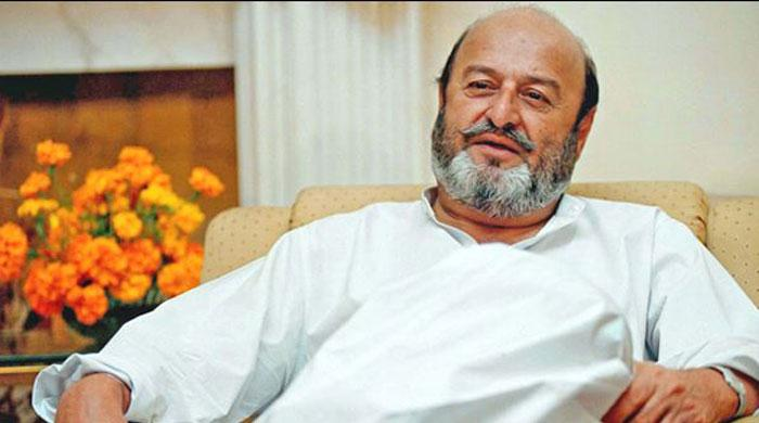 Former Sindh chief minister Mumtaz Bhutto passes away. Photo: File