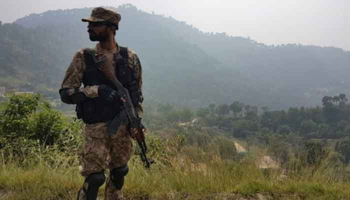 A soldier of the Pakistan Army is seen in this AFP file photo.
