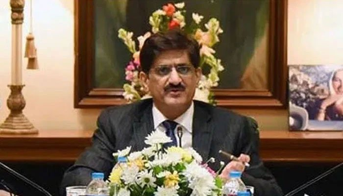 Sindh Chief Minister Syed Murad Ali Shah presides over a meeting to review progress of the KCR project.