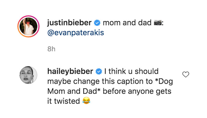 Hailey Bieber sets the record straight after Justin Biebers post sparks pregnancy buzz