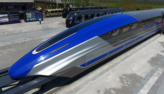 Worlds fastest maglev train rolls off assembly line in China