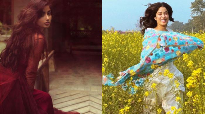 Sajal Aly receives love from Sridevi's daughter Janhvi Kapoor