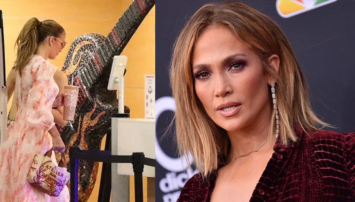 Jennifer Lopez shows off her grace in pink summer dress as she steps out in LA without Affleck