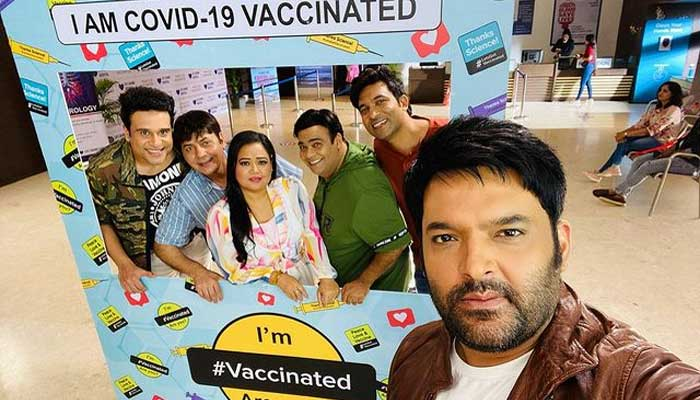 'The Kapil Sharma Show' team vaccinated against Covid-19