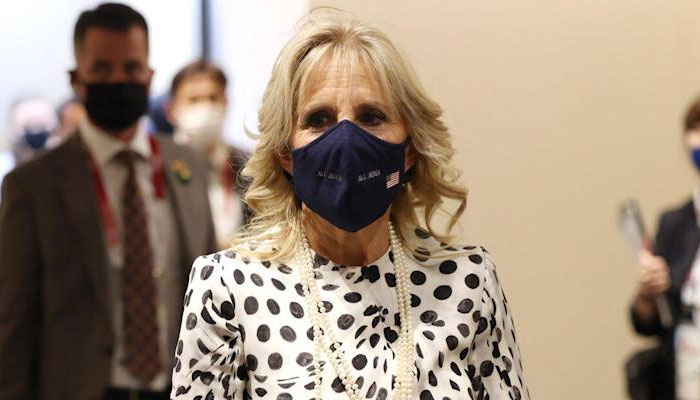 Jill Biden attends Tokyo Opening Ceremony with US Delegation