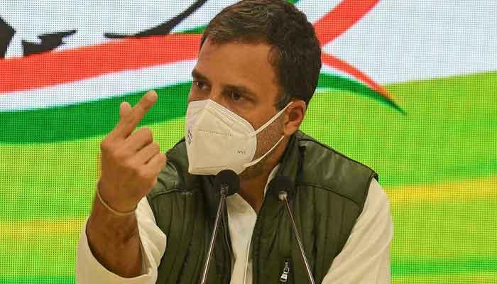 Rahul Gandhi of the Indian National Congress. — AFP
