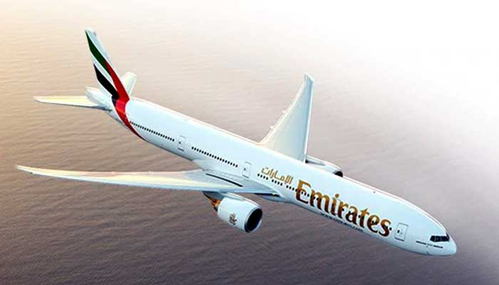 File photo of an Emirates airline aircraft.