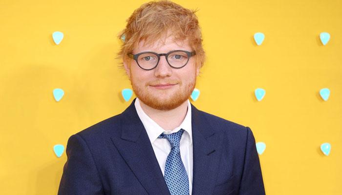 Ed Sheeran shares BTS video of 'Bad Habits' studio session